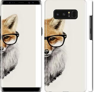 Чехол на Samsung Galaxy Note 8 Лис в очках