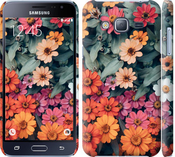 Чехол на Samsung Galaxy J3 Duos (2016) J320H Beauty flowers