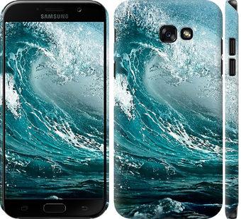 Чехол на Samsung Galaxy A7 (2017) Морская волна