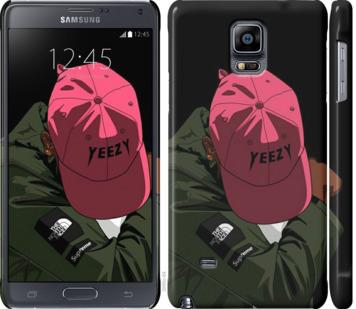 Чехол на Samsung Galaxy Note 4 N910H logo de yeezy