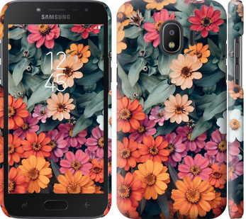 Чехол на Samsung Galaxy J2 2018 Beauty flowers