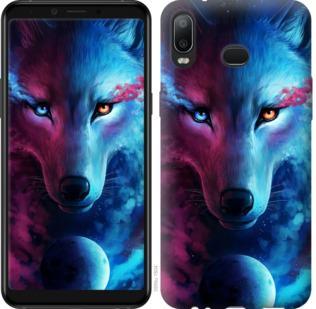 Чехол на Samsung Galaxy A6s Арт-волк