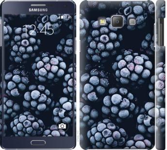 Чехол на Samsung Galaxy A7 A700H Морозная ежевика