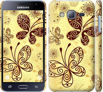 Чехол на Samsung Galaxy J3 Duos (2016) J320H Красивые бабочки