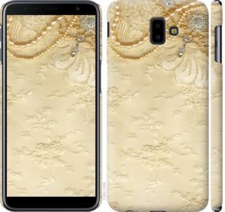 Чехол на Samsung Galaxy J6 Plus 2018 Кружевной орнамент