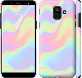 Чехол на Samsung Galaxy A6 2018 пастель