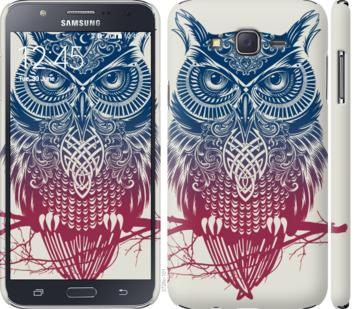 Чехол на Samsung Galaxy J7 J700H Сова 2
