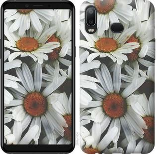 Чехол на Samsung Galaxy A6s Ромашки v2