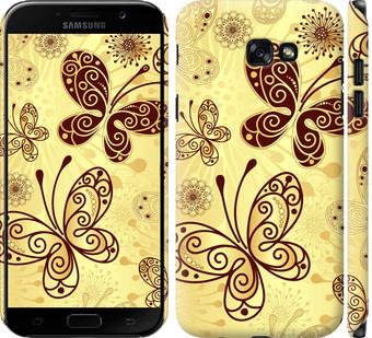 Чехол на Samsung Galaxy A7 (2017) Красивые бабочки