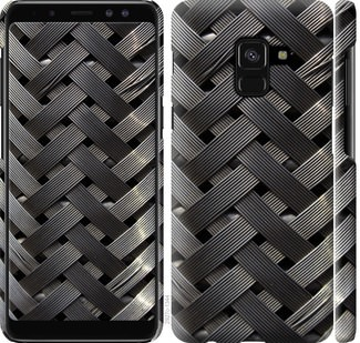 Чехол на Samsung Galaxy A8 2018 A530F Металлические фоны