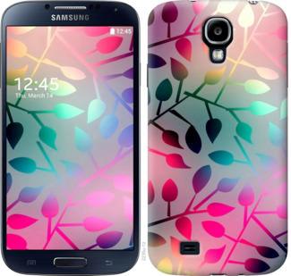Чехол на Samsung Galaxy S4 i9500 Листья
