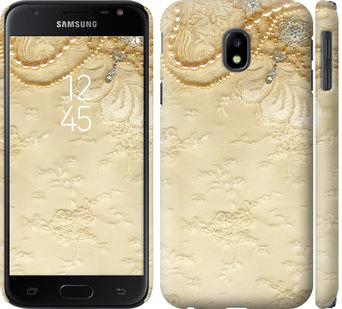Чехол на Samsung Galaxy J3 (2017) Кружевной орнамент