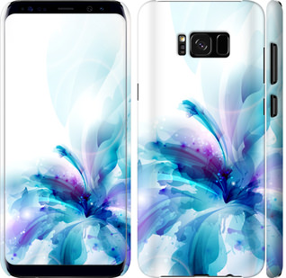 Чехол на Samsung Galaxy S8 цветок