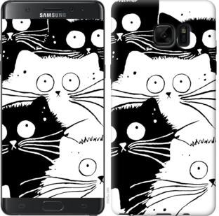 Чехол на Samsung Galaxy Note 7 Duos N930F Коты v2
