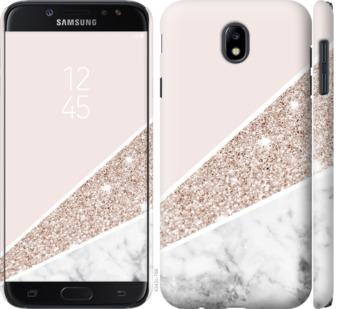 Чехол на Samsung Galaxy J7 J730 (2017) Пастельный мрамор