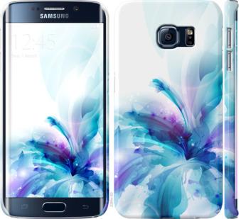 Чехол на Samsung Galaxy S6 Edge G925F цветок