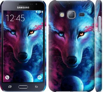 Чехол на Samsung Galaxy J3 Duos (2016) J320H Арт-волк