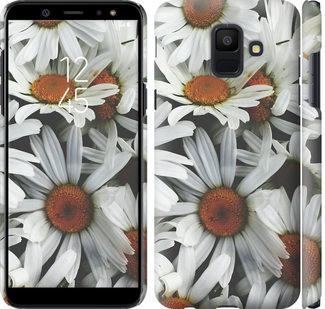 Чехол на Samsung Galaxy A6 2018 Ромашки v2