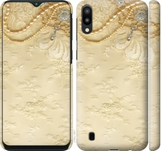 Чехол на Samsung Galaxy M10 Кружевной орнамент