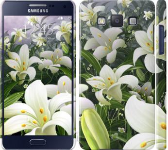 Чехол на Samsung Galaxy A5 A500H Белые лилии