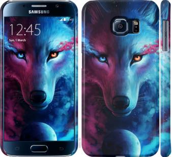Чехол на Samsung Galaxy S6 G920 Арт-волк