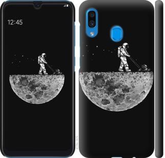 Чехол на Samsung Galaxy A20 2019 A205F Moon in dark