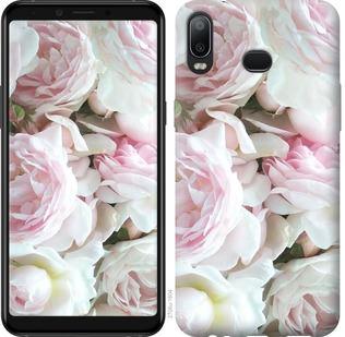Чехол на Samsung Galaxy A6s Пионы v2