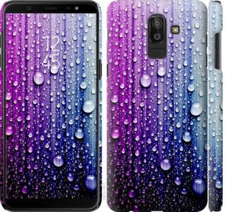 Чехол на Samsung Galaxy J8 2018 Капли воды