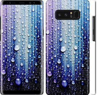 Чехол на Samsung Galaxy Note 8 Капли воды