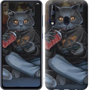 Чехол на Samsung Galaxy A60 2019 A606F gamer cat
