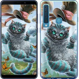 Чехол на Samsung Galaxy A9 (2018) Чеширский кот 2