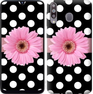 Чехол на Samsung Galaxy M30 Горошек 2