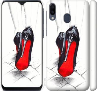 Чехол на Samsung Galaxy M20 Devil Wears Louboutin