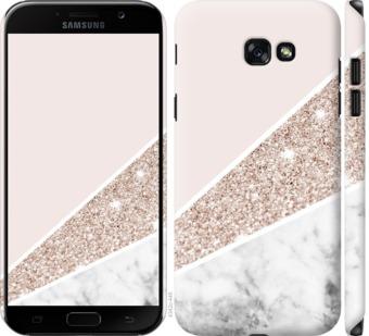 Чехол на Samsung Galaxy A7 (2017) Пастельный мрамор