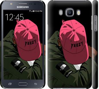 Чехол на Samsung Galaxy J7 (2016) J710F logo de yeezy