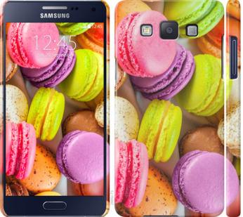 Чехол на Samsung Galaxy A5 A500H Макаруны