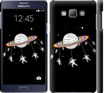 Чехол на Samsung Galaxy A7 A700H Лунная карусель