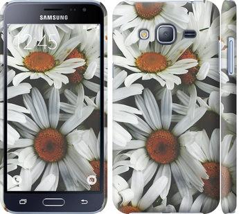 Чехол на Samsung Galaxy J3 Duos (2016) J320H Ромашки v2