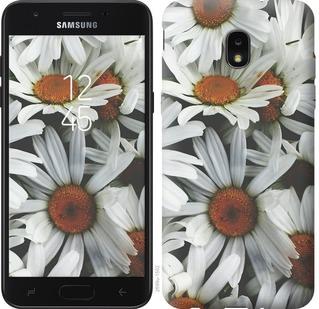 Чехол на Samsung Galaxy J7 2018 Ромашки v2