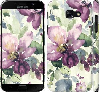 Чехол на Samsung Galaxy A5 (2017) Цветы акварелью