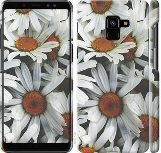 Чехол на Samsung Galaxy A8 Plus 2018 A730F Ромашки v2