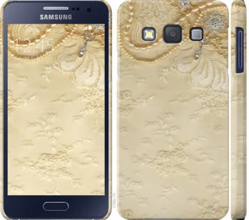 Чехол на Samsung Galaxy A3 A300H Кружевной орнамент