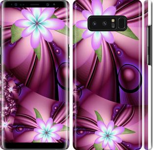 Чехол на Samsung Galaxy Note 8 Цветочная мозаика