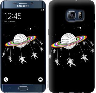 Чехол на Samsung Galaxy S6 Edge Plus G928 Лунная карусель