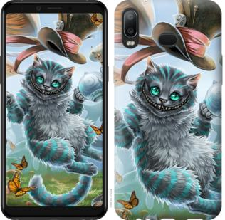 Чехол на Samsung Galaxy A6s Чеширский кот 2
