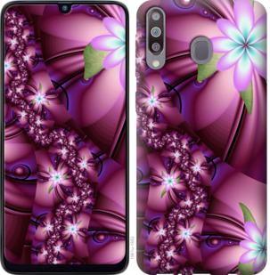 Чехол на Samsung Galaxy M30 Цветочная мозаика