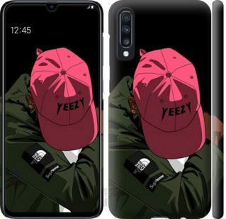 Чехол на Samsung Galaxy A70 2019 A705F logo de yeezy