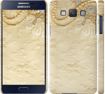 Чехол на Samsung Galaxy A5 A500H Кружевной орнамент