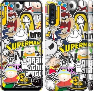 Чехол на Samsung Galaxy A70 2019 A705F Popular logos
