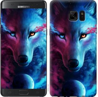 Чехол на Samsung Galaxy Note 7 Duos N930F Арт-волк